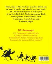 Les Petules Fifi Cassenougat - 4ème de couverture - Format classique