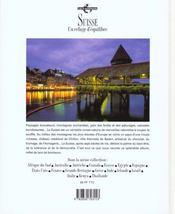 Suisse - 4ème de couverture - Format classique