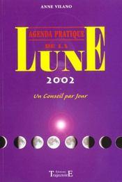 Agenda Pratique De La Lune 2002 - Intérieur - Format classique