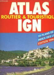 Atlas routier ign edition 96/97 aed - Couverture - Format classique