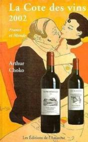 Cote des vins 2002 - Couverture - Format classique