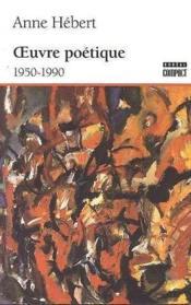 Oeuvre Poetique 1950-1990 - Couverture - Format classique