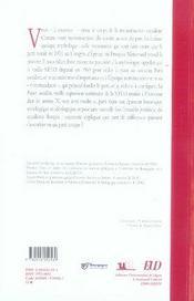 La france socialiste. histoire documentaire du parti socialiste t.4 ; 1969-2005 - 4ème de couverture - Format classique