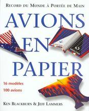 Avions En Papier : Records Du Monde A Portee De Tous - Intérieur - Format classique