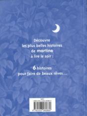 Martine les plus belles histoires à lire le soir - 4ème de couverture - Format classique