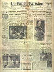 Petit Parisien Edition De Paris (Le) du 28/02/1941 - Couverture - Format classique