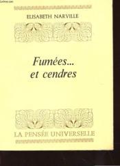 Fumees... Et Cendres - Couverture - Format classique