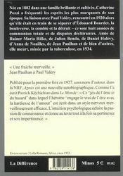 Agnès - 4ème de couverture - Format classique