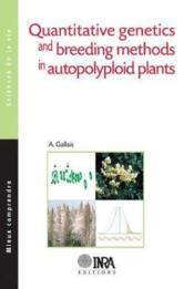 Quantitative genetics and breeding methods in autopoplyploids plants - Couverture - Format classique