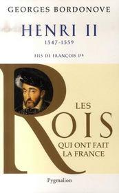 Henri II, 1547-1559 ; fils de François Ier - Intérieur - Format classique