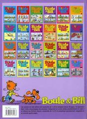 Boule & Bill t.18 - 4ème de couverture - Format classique