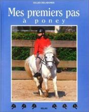 Mes premiers pas a poney - Couverture - Format classique
