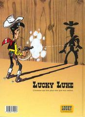 Lucky Luke t.41 ; l'héritage de Rantanplan - 4ème de couverture - Format classique