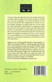 Histoire de jeanne d'arc par elle meme - 4ème de couverture - Format classique