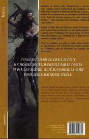 L'agent des ombres t.3 ; sang-pitié - 4ème de couverture - Format classique