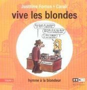 Vive les blondes t.1 - Intérieur - Format classique
