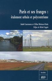 Paris et ses franges : étalement urbain et polycentrisme - Intérieur - Format classique