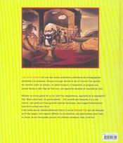 Le monde fou fou fou de dali - 4ème de couverture - Format classique