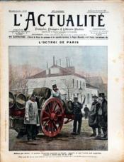 Actualite (L') N°52 du 20/01/1901 - Couverture - Format classique