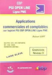 Ebp pgi open line ; applications commerciales etcomptables  sur pgi ebp open line ligne pme. exe niv  - Robert Wipf