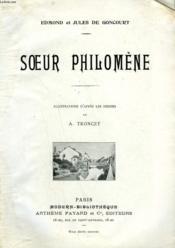 Soeur Philomene. Collection Modern Bibliotheque. - Couverture - Format classique