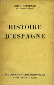 Histoire D'Espagne. - Couverture - Format classique