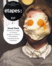 Vente  REVUE ETAPES N.217 ; visual food  - Revue Etapes