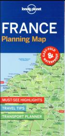 Vente livre :  France planning map (édition 2017)  - Collectif - Collectif Lonely Planet