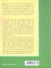 Convexite Dans Le Plan Dans L'Espace Et Au-Dela De La Puissance Et De La Complexite Volume 1 - 4ème de couverture - Format classique