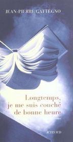 Longtemps, Je Me Suis Couche De Bonne Heure - Intérieur - Format classique