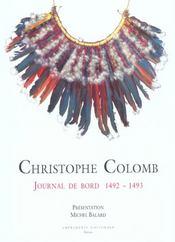 Journal De Bord 1492-1493 - Intérieur - Format classique