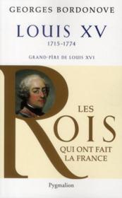 Louis XV - Couverture - Format classique