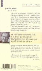Bleu de Sèvres - 4ème de couverture - Format classique