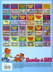 Boule & Bill t.19 - 4ème de couverture - Format classique
