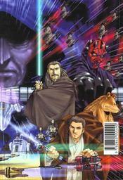 Star Wars - manga t.7 ; la menace fantôme - 4ème de couverture - Format classique