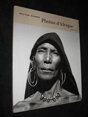 Photos D'Afrique, 1948-1953 - Couverture - Format classique