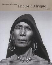 Photos D'Afrique, 1948-1953 - Intérieur - Format classique