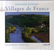 Calendrier perpétuel villages de France - Intérieur - Format classique