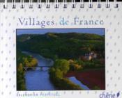 Calendrier perpétuel villages de France - Couverture - Format classique