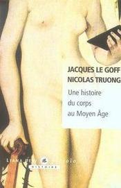 Une histoire du corps au Moyen Age - Intérieur - Format classique