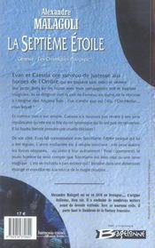 Génésia, les chroniques pourpres t.2 ; la septième étoile - 4ème de couverture - Format classique