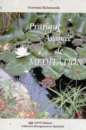 Pratique Avancee De Meditation - Couverture - Format classique