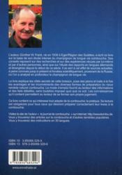 Kombucha La Boisson Au Champignon De Longue Vie - 4ème de couverture - Format classique