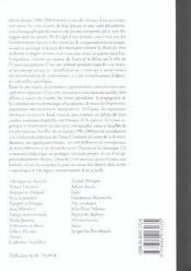 Art en Europe (l') 1990-2000 - 4ème de couverture - Format classique