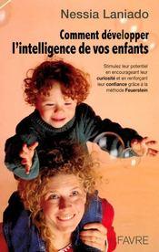 Comment développer l'intelligence de vos enfants - Couverture - Format classique