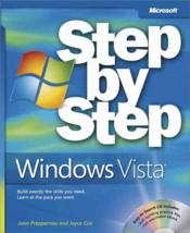 Vente livre :  Microsoft Windows Vista ; step by step  - Joyce Cox - Joan Preppernau