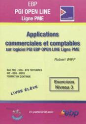 Ebp pgi open line pro - pack formateur - applications commerciales et comptables sur pgi ebp open li  - Robert Wipf