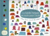La famille Pompon en route pour l'école ; mon livre-circuit des couleurs - Couverture - Format classique