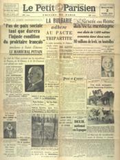 Petit Parisien Edition De Paris (Le) du 02/03/1941 - Couverture - Format classique