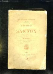 Memoires Des Sanson. Tome 6. - Couverture - Format classique